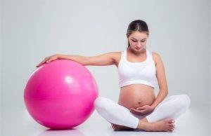 Sportief zwanger